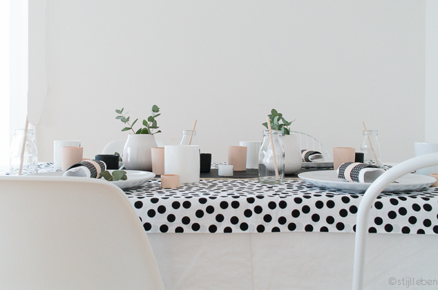 Ostern Tischdekoration und der etwas andere Osterhase_III