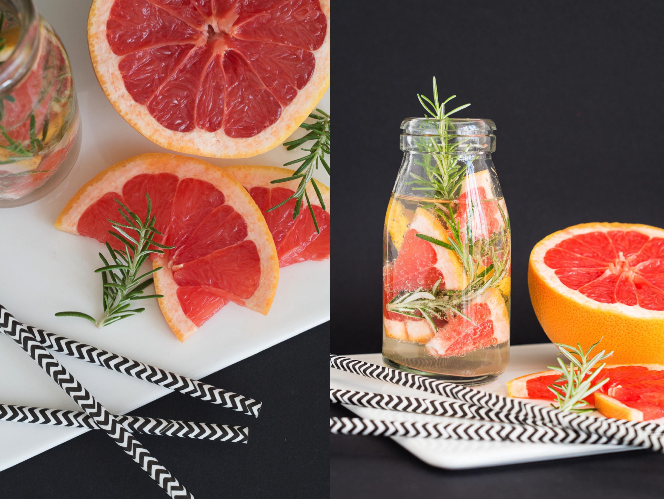 Wasser, Wasser, Wasser - Drei infused water Rezepte mit Früchten und Kräutern_IX