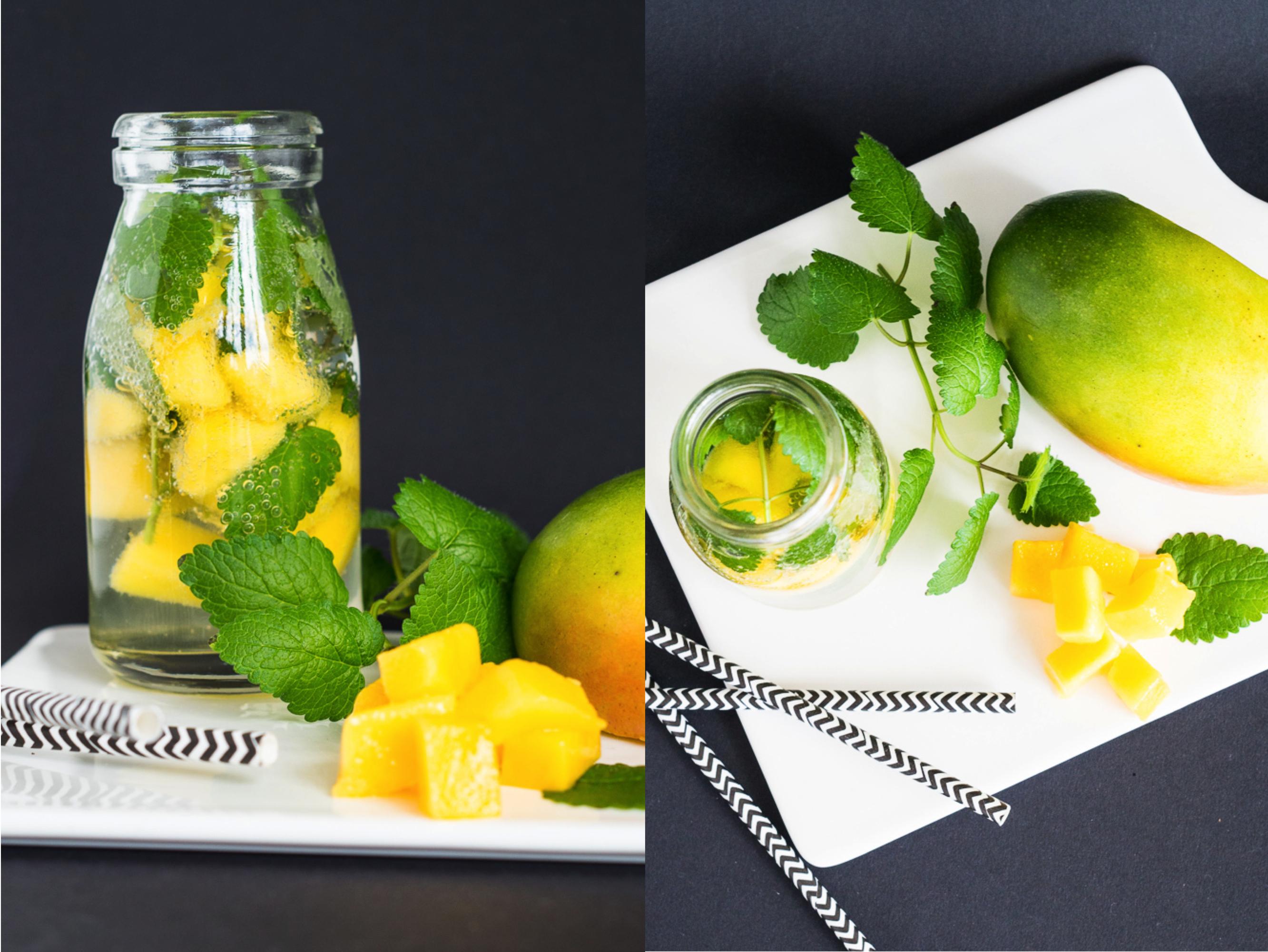 Wasser, Wasser, Wasser - Drei infused water Rezepte mit Früchten und Kräutern_X